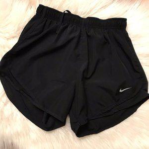 NIKE Dri-Fit Black Running Shorts Size Small